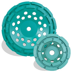 P4™ Concrete & Masonry Cup Wheel, Double Row