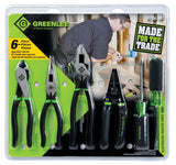 Greenlee 0159-36 Hand Tool Kit, Six Piece