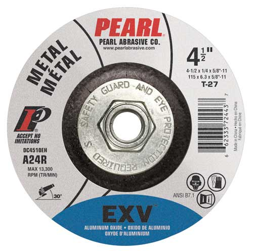 Depressed Center EXV Aluminum Oxide Wheels