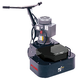 Electric Powered Floor Grinder, Double-Head