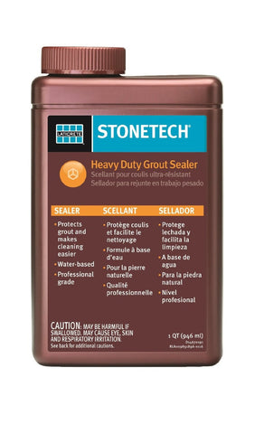 StoneTech Heavy Duty Grout Sealer, 1-Quart