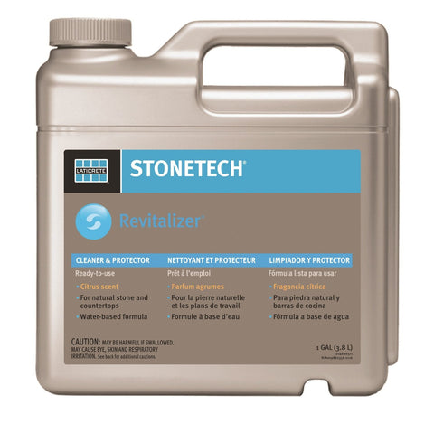 StoneTech RTU Revitalizer, Cleaner & Protector for Tile & Stone, 1-Gallon