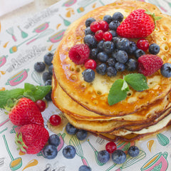 Branded greaseproof with pancakes