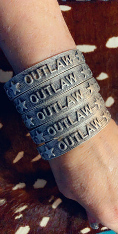Outlaw Bangle Bracelet