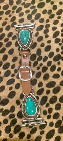 Turquoise Teardrop Apple Watchband
