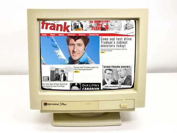 $99 Boxing Day Sale (+Free E-book!) One-Year Online Access to FrankMag.ca subscription
