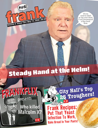 Vol 4, Issue 154 - Frank Magazine National Edition, Electronic Download (PDF)