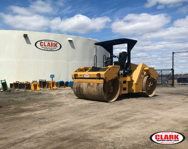 2009 Cat CB54 XW Roller