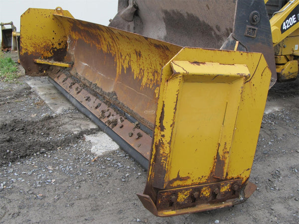 Snow Push Blade for Backhoes 14 FT.