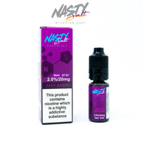Asap Grape Nasty Juice Nic Salt E-Liquid 10ml - 10mg or 20mg
