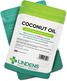 Lindens Coconut Oil 1000mg Capsules (90) Rapid Release