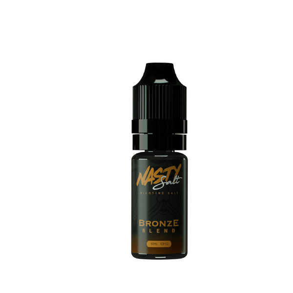 Bronze Blend Nasty Juice Nic Salt E-Liquid 10ml- 10mg or 20mg