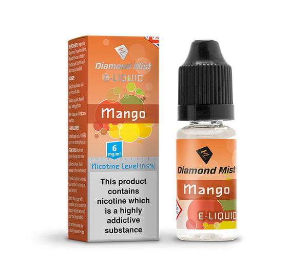 DIAMOND MIST MANGO E-LIQUID 6MG