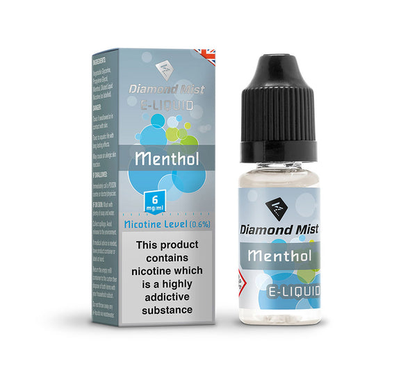 DIAMOND MIST MENTHOL E-LIQUID 6MG