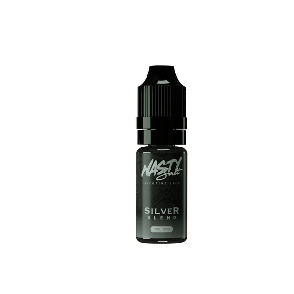 Silver Blend Nasty Juice Nic Salt E-Liquid 10ml- 10mg or 20mg