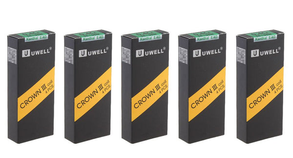 Uwell Crown 3 Coils (4pk) 0.4Ohm kanthal A1, 55-65W