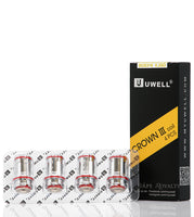 Uwell Crown 3 Coils (4pk) 0.25Ohm SUS316, 80-90W