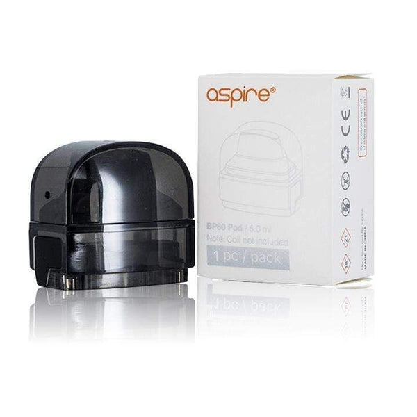 ASPIRE BP60 PODS, Replacement Vape Pod, XL 5.0, Single Pack, No Coil Included