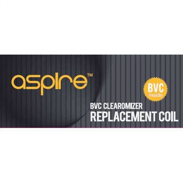 Aspire BVC 1.6ohm coils for Aspire ET, ET-S, K1, K2, CE5