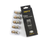 Aspire Triton Clapton 0.5 ohm coils (pack of 5) 40-45W