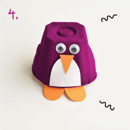 Oribel Inspired Ideas - DIY Penguin Craft