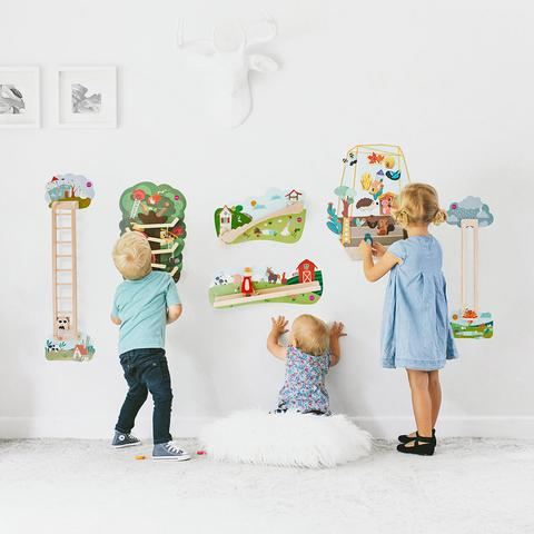 Sensory Walls help in overall Child development
