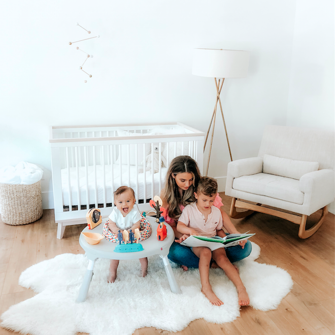Keeping your home's minimal style, post baby