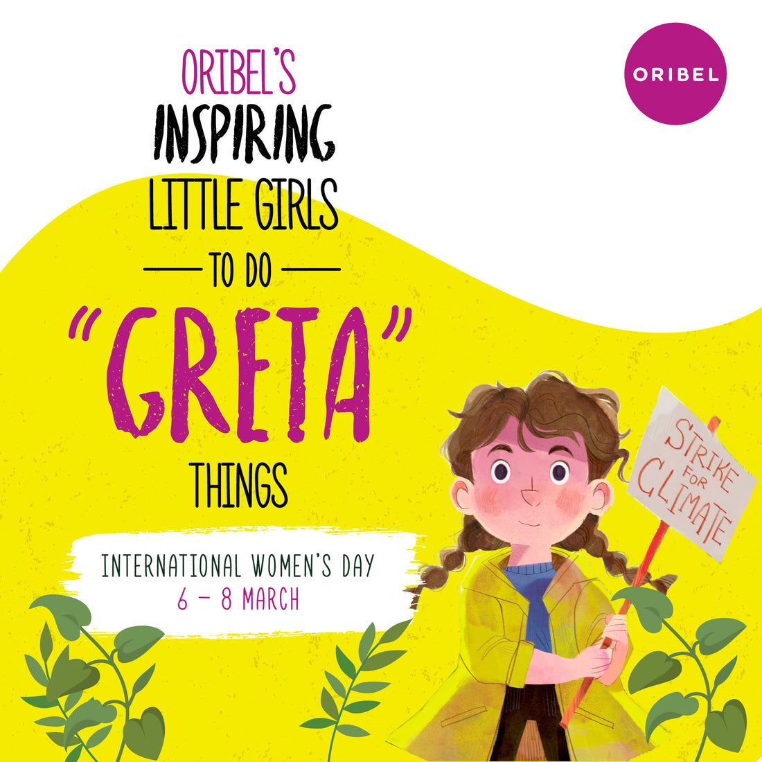 Inspiring little girls to do 'Greta' things!