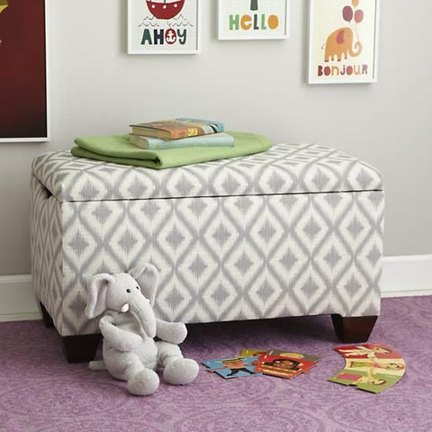 cloth storage bench to keep children's toys