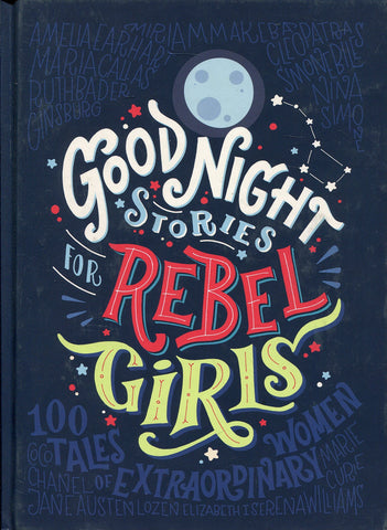good night stories for rebel girls international women's day