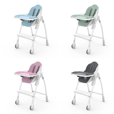 The Oribel Cocooon High Chair and all its #delicious colorways.