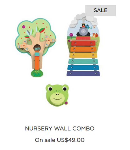 Oribel nursery wall combo for sale