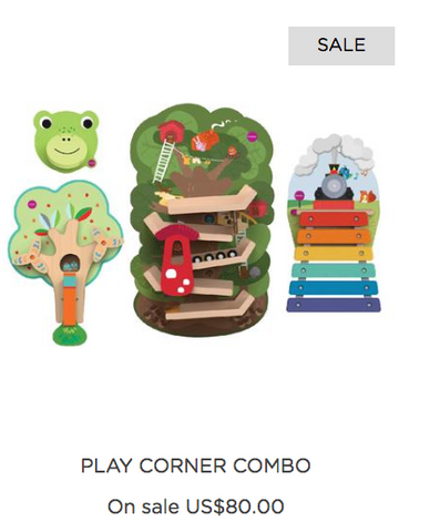 Oribel play corner combo for sale