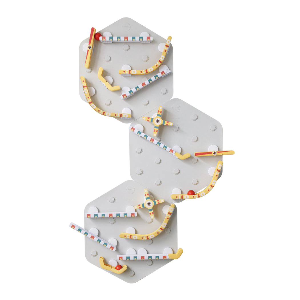 VertiPlay STEM Marble Run - Triple Fun Set of 3