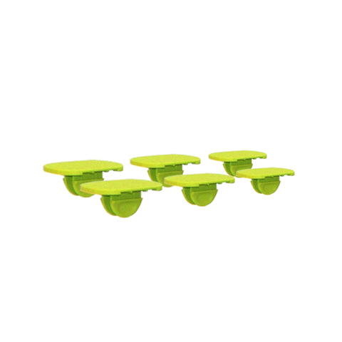 Portaplay Service Parts- Set of 6 plugs (Green)
