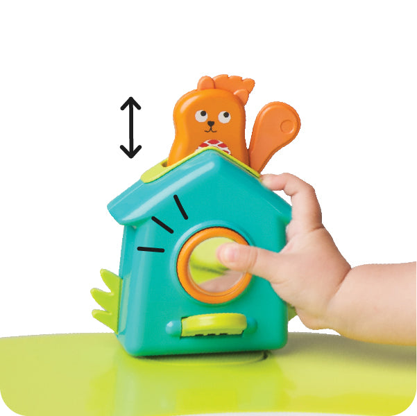 Portaplay Toy- Popping Squirrel