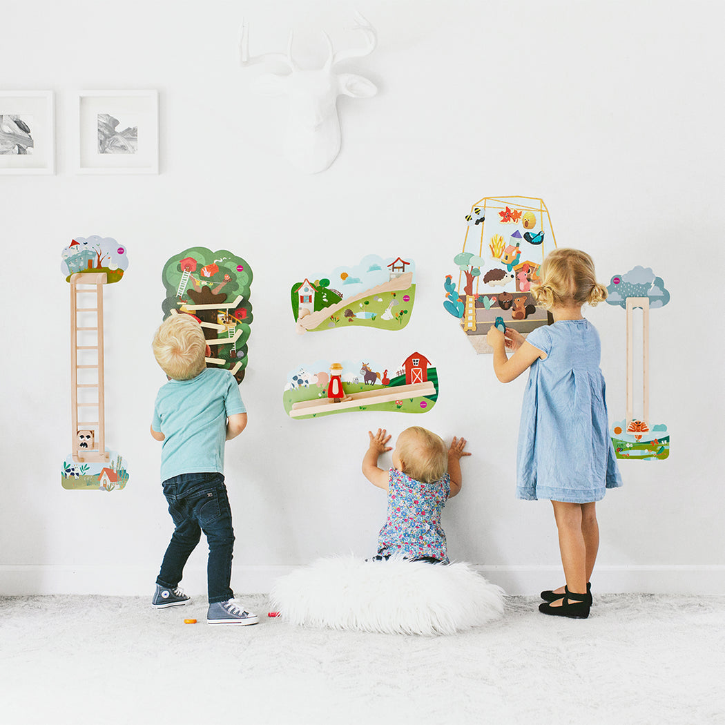 VertiPlay Wall Toy: The Enchanted Garden