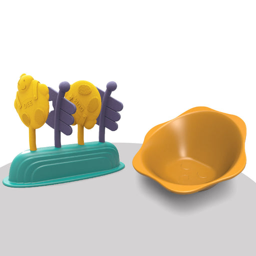 PortaPlay Snack Bowl & Toy Combo