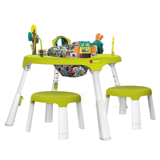 PortaPlay Forest Friends Activity Center + Stools Combo