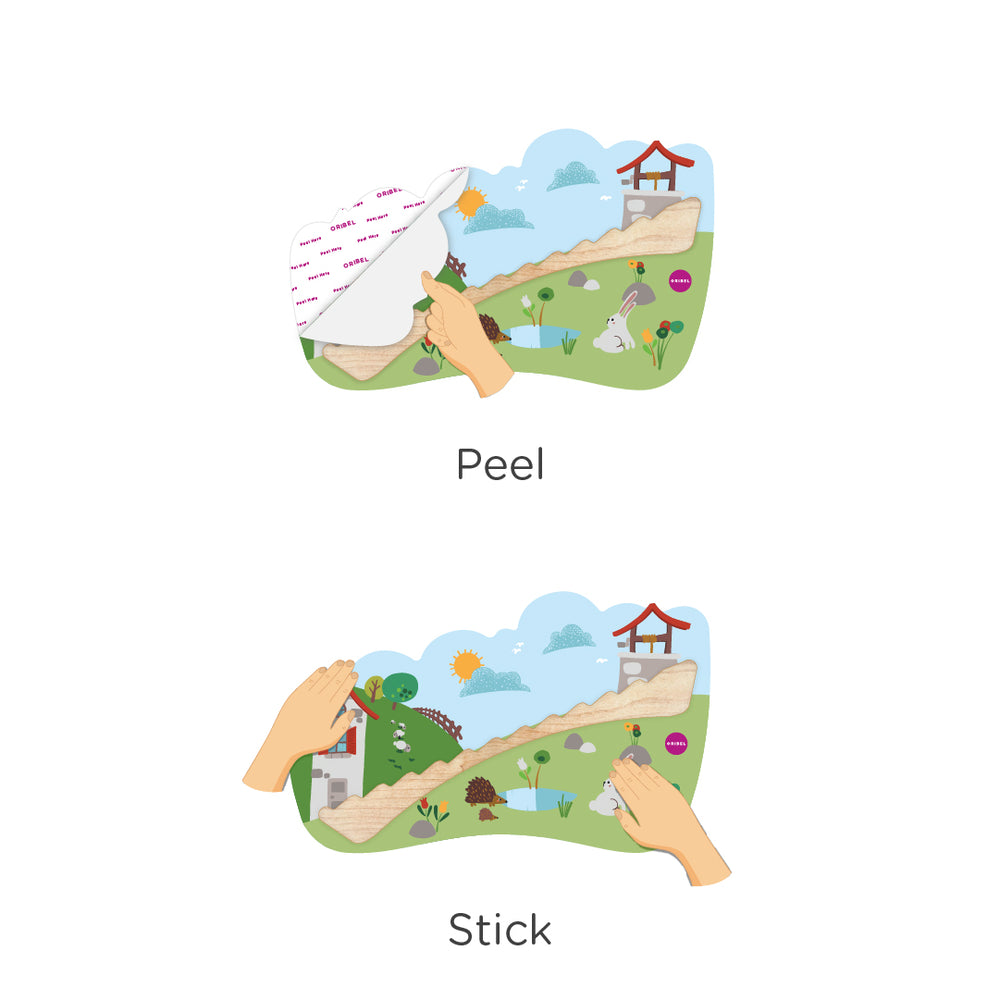 VertiPlay Wall Toy: Jack and Jill
