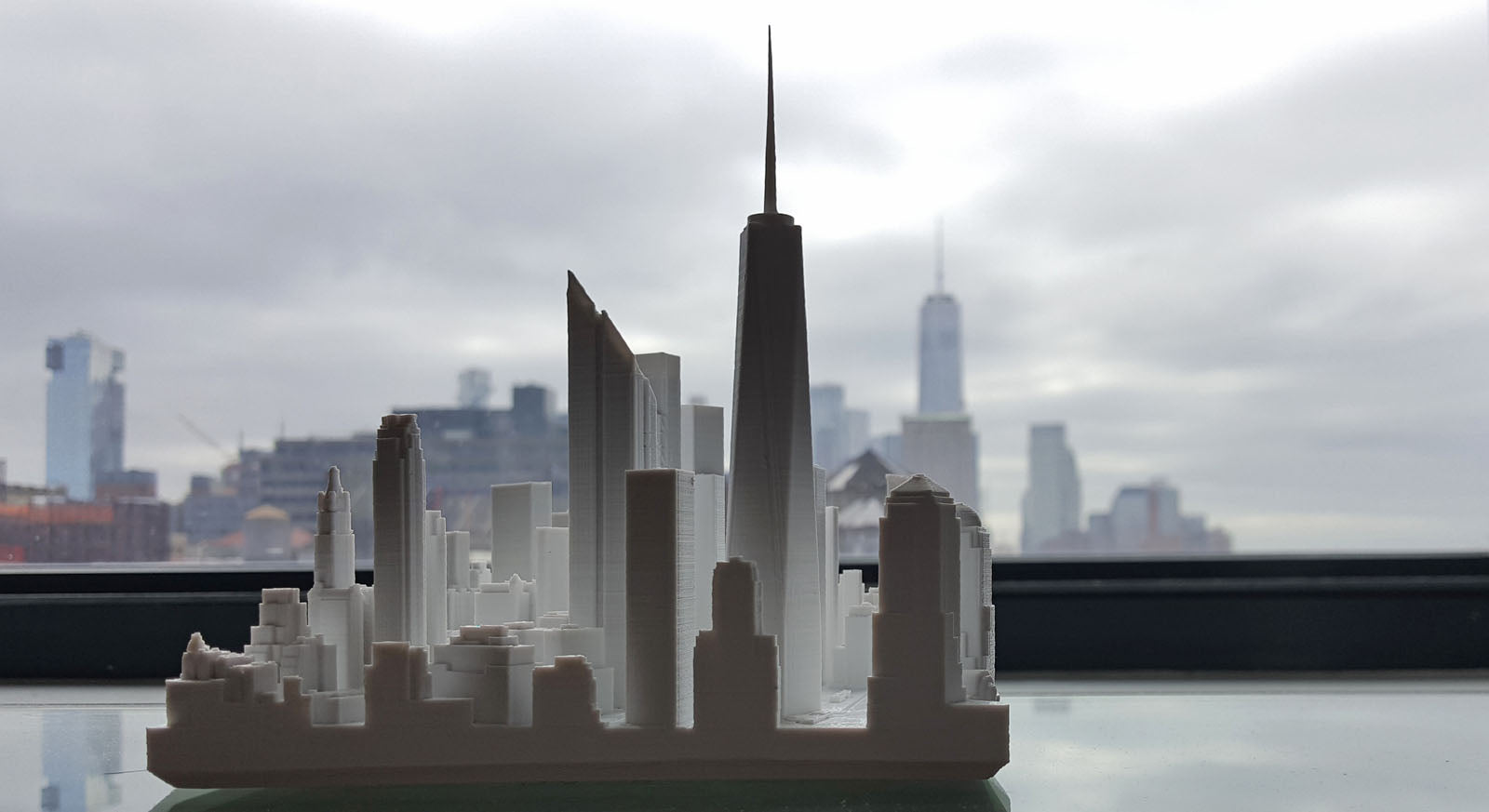 Microscape | 3D-Printed Architectural Cityscape Models