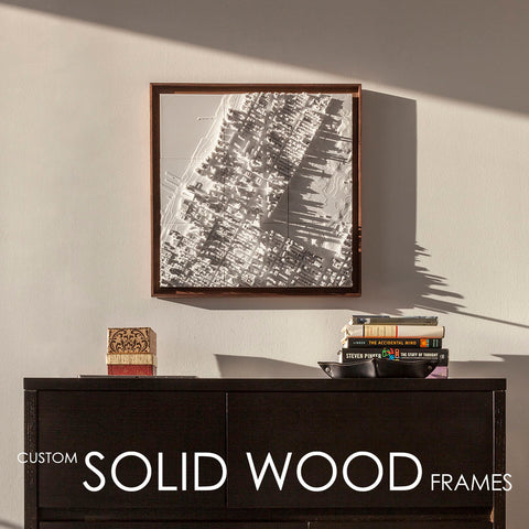 Microscape | Solid Wood Frames