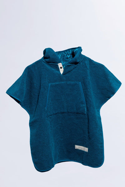 Toddler cape Petrol