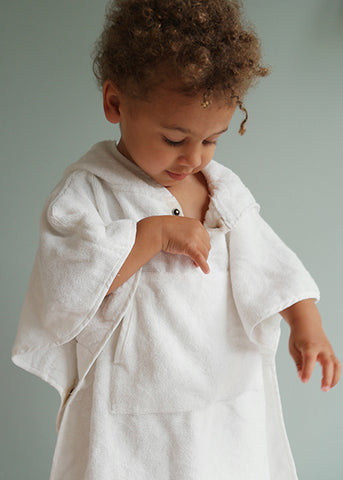 Toddler cape White