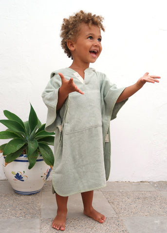 Toddler cape Pastel Green