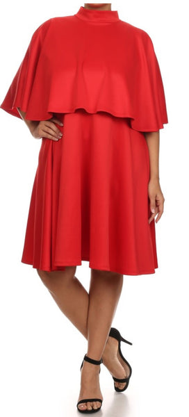 "Red "" High Society"" Dress"