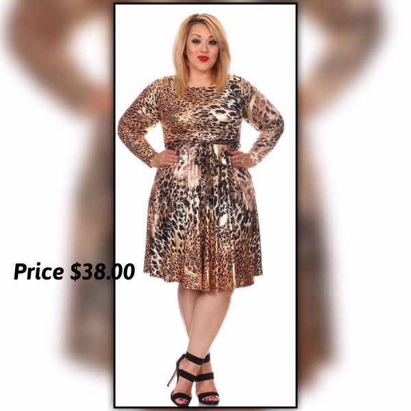 Golden Key Dress