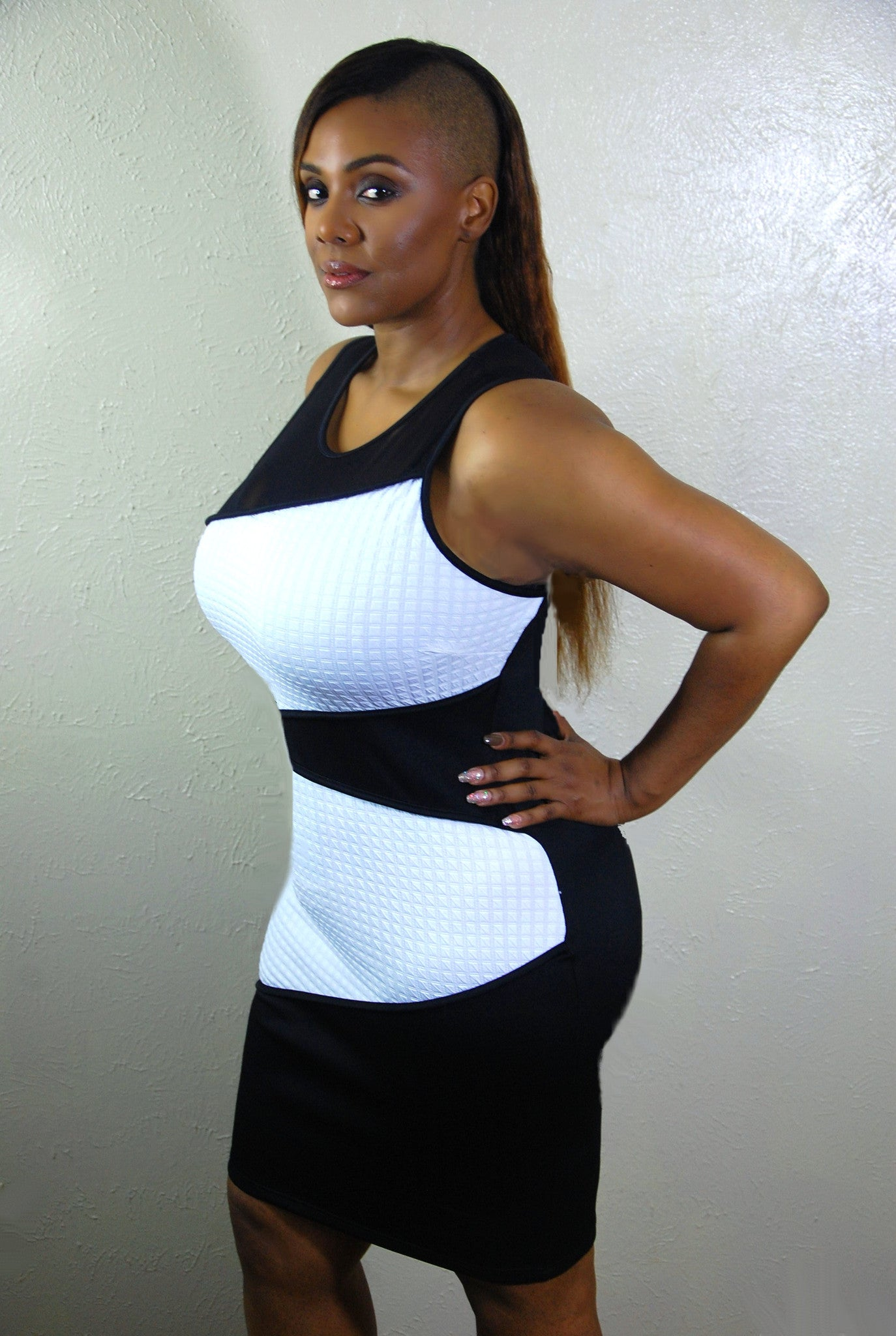 Black and White Bodycon