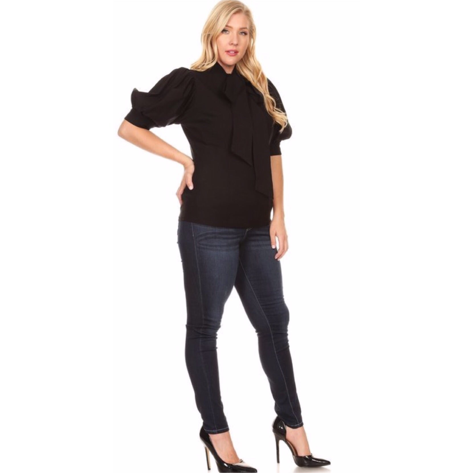 Basic Black Blouse