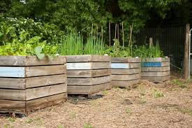 How To Build A Raised Garden Bed From Used Pallets